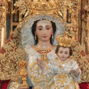Nuestra Señora del Rosario Coronada, Burguillos