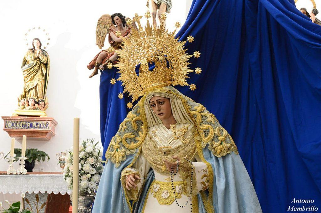 Firmamos el Viernes de Dolores con la Hermandad de los Ángeles de San Juan de Aznalfarache